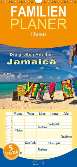 Die großen Antillen – Jamaica – Familienplaner hoch (Wandkalender 2019 , 21 cm x 45 cm, hoch) von Roder,  Peter