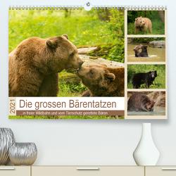 Die grossen Bärentatzen (Premium, hochwertiger DIN A2 Wandkalender 2021, Kunstdruck in Hochglanz) von Photo4emotion.com