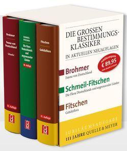 Die Großen Bestimmungsklassiker im Schuber von Quelle & Meyer Verlag
