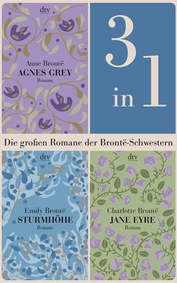 Die großen Romane der Brontë-Schwestern (3in1-Bundle) von Brontë,  Anne, Brontë,  Charlotte, Brontë,  Emily
