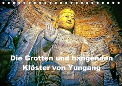 Die Grotten und hängenden Klöster von Yungang (Tischkalender 2020 DIN A5 quer) von stegen,  joern