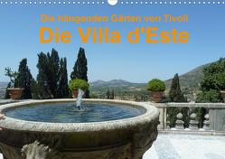 Die hängenden Gärten von Tivoli – Die Villa d'Este (Wandkalender 2021 DIN A3 quer) von Weimar,  Vincent