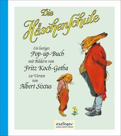 Die Häschenschule, Pop-up-Buch