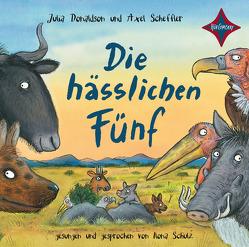 Die hässlichen Fünf von Donaldson,  Julia, Naoura,  Salah, Scheffler,  Axel, Schulz,  Ilona
