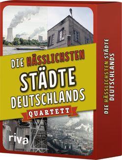 Die hässlichsten Städte Deutschlands – Quartett von Riva Verlag