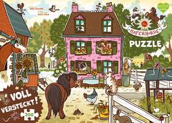 Die Haferhorde – Voll versteckt! (Puzzle) von Dulleck,  Nina, Kolb,  Suza