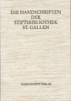 Die Handschriften der Stiftsbibliothek St. Gallen von Scarpatetti,  Beat M von