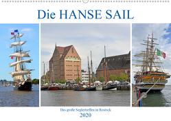 Die HANSE SAIL Das große Seglertreffen in Rostock (Premium, hochwertiger DIN A2 Wandkalender 2020, Kunstdruck in Hochglanz) von Senff,  Ulrich