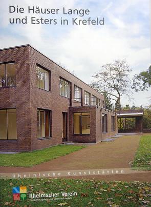 Die Häuser Lange und Esters in Krefeld von Hammers,  Birgit, Wiemer,  Karl Peter