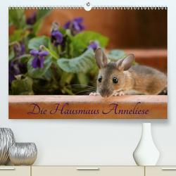 Die Hausmaus Anneliese (Premium, hochwertiger DIN A2 Wandkalender 2020, Kunstdruck in Hochglanz) von Hultsch,  Heike