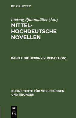 Die Heidin (IV. Redaktion) von Pfannmüller,  Ludwig