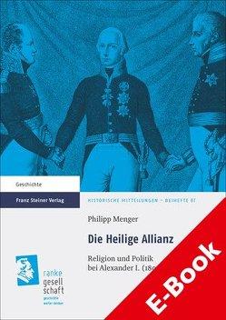 Die Heilige Allianz von Menger,  Philipp