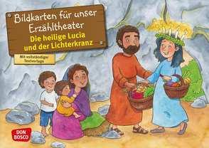 Die heilige Lucia und der Lichterkranz. Kamishibai Bildkartenset. von Fastenmeier,  Catharina, Häusl-Vad,  Sonja
