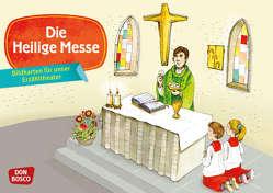 Die Heilige Messe. Kamishibai Bildkartenset. von Badel,  Christian, Hebert,  Esther, Rensmann,  Gesa