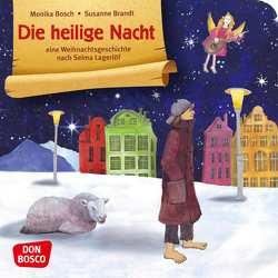 Die heilige Nacht. Mini-Bilderbuch. von Bosch,  Monika, Brandt,  Susanne
