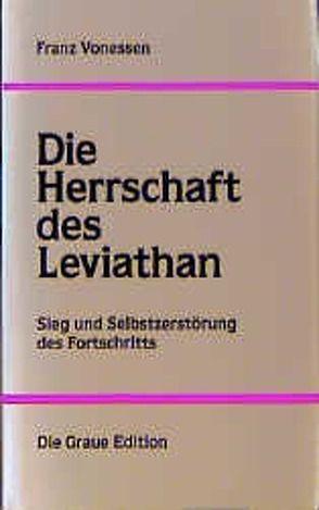 Die Herrschaft des Leviathan von Vonessen,  Franz