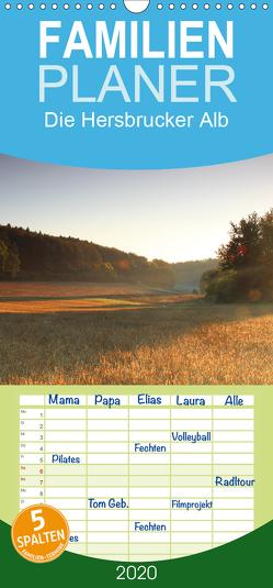 Die Hersbrucker Alb – Familienplaner hoch (Wandkalender 2020 , 21 cm x 45 cm, hoch) von Tauber,  Sebastian