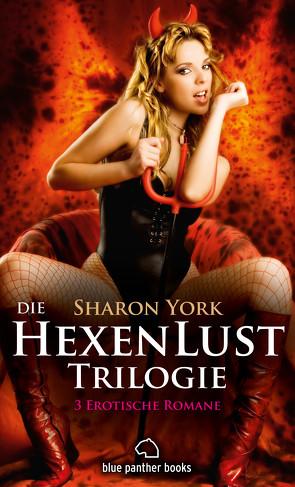 Die HexenLust Trilogie | 3 Erotische Romane von York,  Sharon