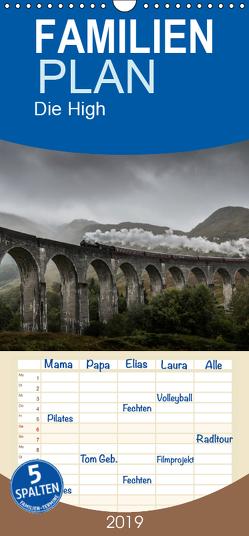 Die Highlands – Schottlands rauher Nordwesten – Familienplaner hoch (Wandkalender 2019 , 21 cm x 45 cm, hoch) von Peters,  Andreas