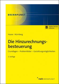Die Hinzurechnungsbesteuerung von Haase,  Florian, Nürnberg,  Philip