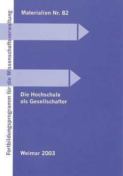 Die Hochschule als Gesellschafter von Anderbrücke,  Klaus