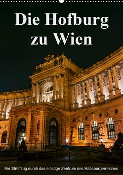 Die Hofburg zu WienAT-Version (Wandkalender 2020 DIN A2 hoch) von Bartek,  Alexander