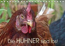 Die Hühner sind los! (Tischkalender 2019 DIN A5 quer) von M. Laube,  Lucy
