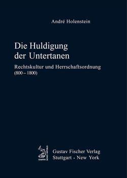 Die Huldigung der Untertanen von Holenstein,  André