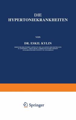 Die Hypertoniekrankheiten von Kylin,  Eskil
