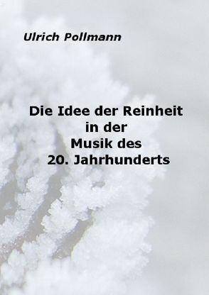 Die Idee der Reinheit in der Musik des 20. Jahrhunderts von Pollmann,  Ulrich