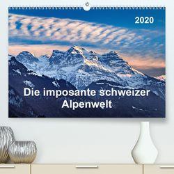 Die imposante schweizer Alpenwelt (Premium, hochwertiger DIN A2 Wandkalender 2020, Kunstdruck in Hochglanz) von ap-photo