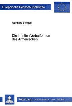 Die infiniten Verbalformen des Armenischen von Stempel,  Reinhard