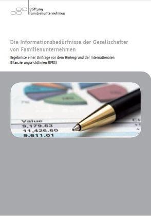 Die Inforamtionsbedürfnisse der Gesellschafter von Familienunternehmer von Schäfer,  Henry