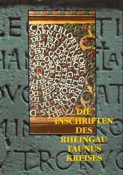 Die Inschriften des Rheingau-Taunus-Kreises von Monsees,  Yvonne