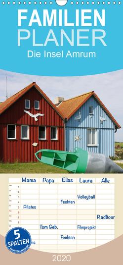 Die Insel Amrum – Familienplaner hoch (Wandkalender 2020 , 21 cm x 45 cm, hoch) von SchnelleWelten