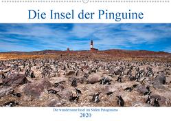 Die Insel der Pinguine – Die wundersame Insel im Süden Patagoniens (Wandkalender 2020 DIN A2 quer) von Zillich,  Bernd