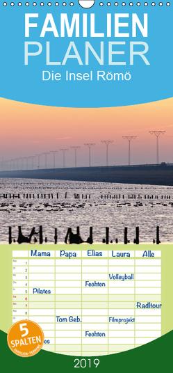 Die Insel Römö – Familienplaner hoch (Wandkalender 2019 , 21 cm x 45 cm, hoch) von Akrema-Photography, Neetze