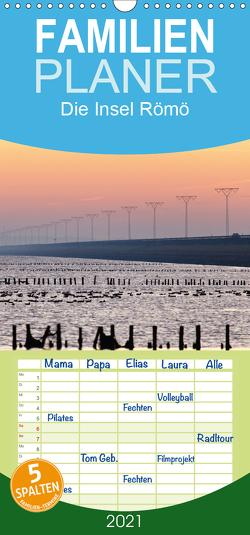 Die Insel Römö – Familienplaner hoch (Wandkalender 2021 , 21 cm x 45 cm, hoch) von Akrema-Photography, Neetze