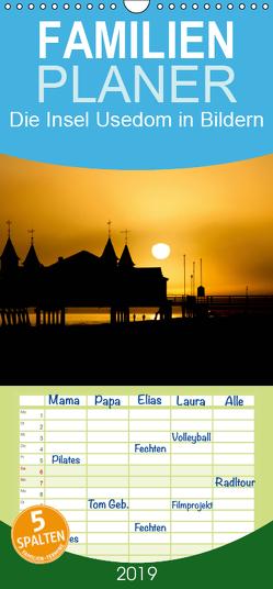 Die Insel Usedom in Bildern – Familienplaner hoch (Wandkalender 2019 , 21 cm x 45 cm, hoch) von Dumke,  Andreas