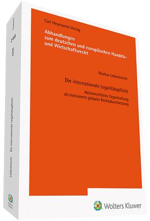 Die internationale Legalitätspflicht von Lieberknecht,  Markus