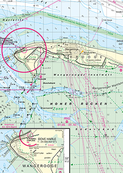 Die Jade mit Wilhelmshaven von Bundesamt für Seeschifffahrt und Hydrographie