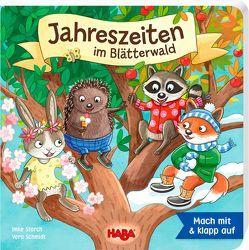 Die Jahreszeiten im Blätterwald von Schmidt,  Vera, Storch,  Imke