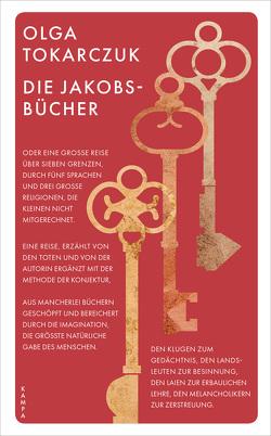 Die Jakobsbücher von Palmes,  Lisa, Quinkenstein,  Lothar, Tokarczuk,  Olga