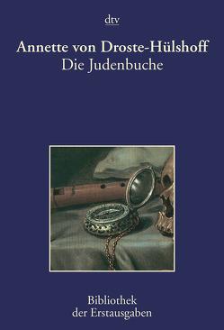 Die Judenbuche von Droste-Hülshoff,  Annette von, Kiermeier-Debre,  Joseph