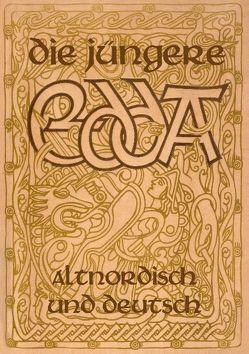 Die Jüngere Edda – Altnordisch und deutsch von Baron von Nahodyl Neményi,  Árpád