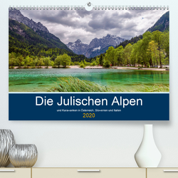 Die Julischen Alpen (Premium, hochwertiger DIN A2 Wandkalender 2020, Kunstdruck in Hochglanz) von Wege / twfoto,  Thorsten