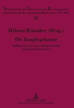 Die Junghegelianer von Reinalter,  Helmut