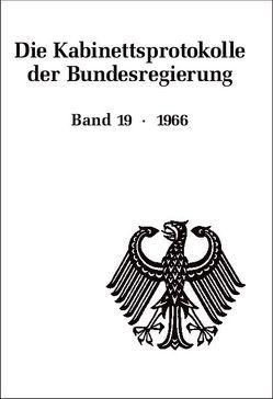 Die Kabinettsprotokolle der Bundesregierung / 1966 von Behrendt,  Ralf, Fabian,  Christine, Rössel,  Uta, Seemann,  Christoph