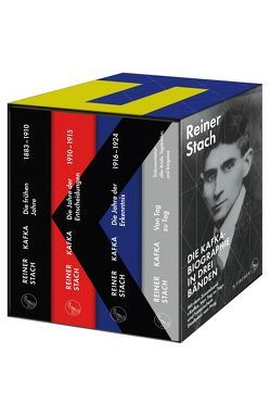 Die Kafka-Biographie in drei Bänden von Stach,  Reiner