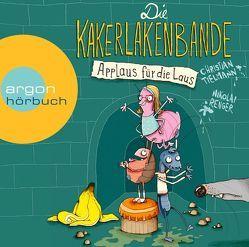 Die Kakerlakenbande – Applaus für die Laus von Großmann,  Mechthild, Kauffels,  Dirk, Tielmann,  Christian